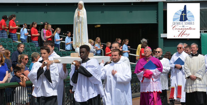 NH Catholic Schools Consecration to Mary