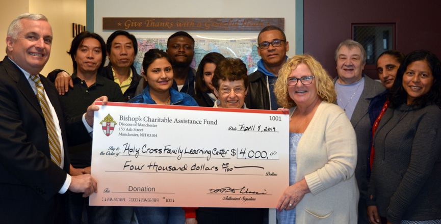 Holy Cross Family Learning Center Granted $4,000