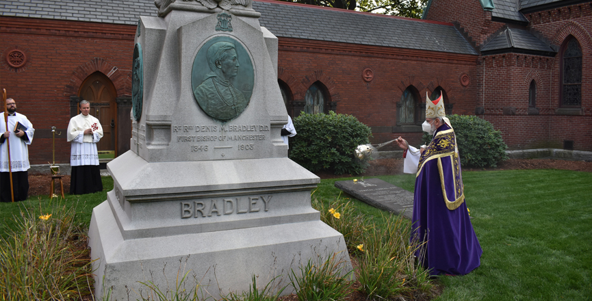 Cathedral Cemetery Dedication