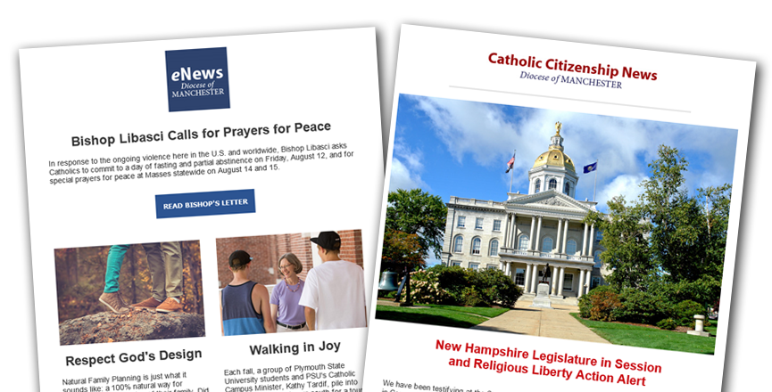 Stay Informed - Diocese of Manchester