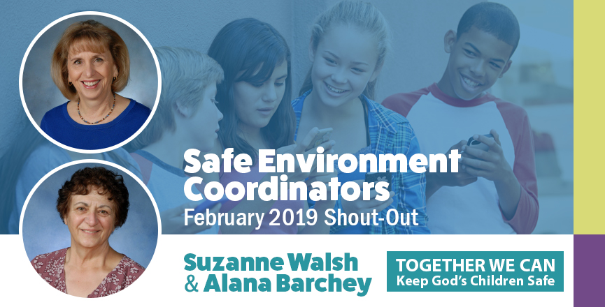 Safe Environment Coordinator Shout-Outs