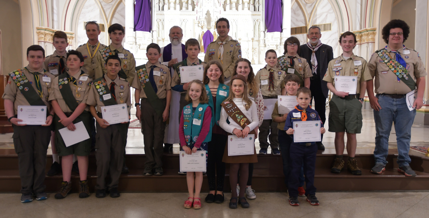 Catholic Scouting Recognition Ceremony