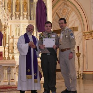Scouting Recognition 40