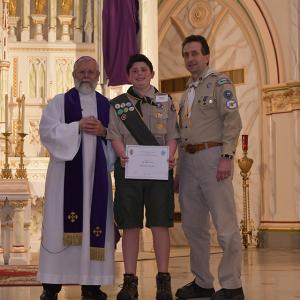 Scouting Recognition 41