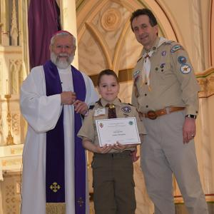 Scouting Recognition 34